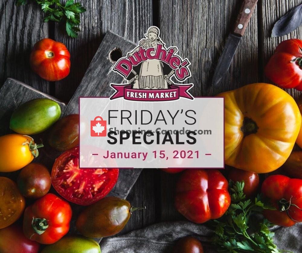 Flyer Dutchie's Fresh Market Canada - from Friday January 15, 2021 to Friday January 15, 2021