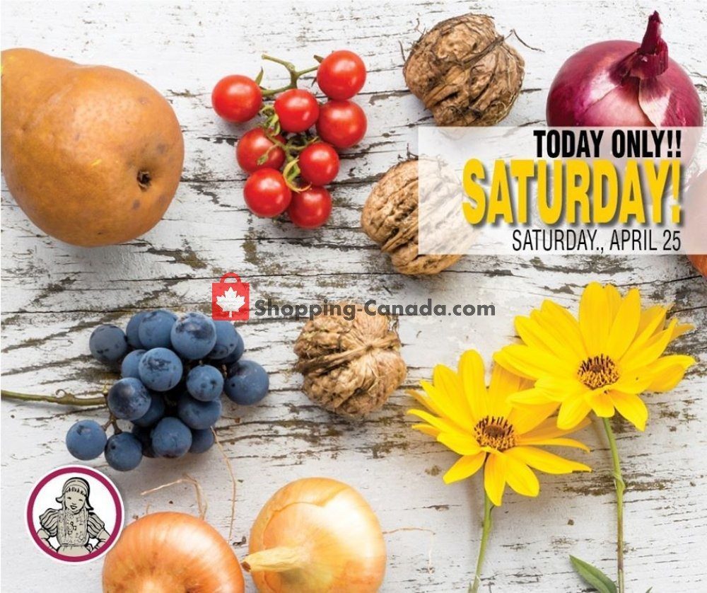 Flyer Dutchie's Fresh Market Canada - from Saturday April 25, 2020 to Saturday April 25, 2020