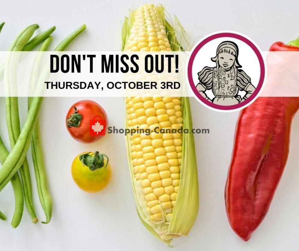 Flyer Dutchie's Fresh Market Canada - from Thursday October 3, 2019 to Thursday October 3, 2019