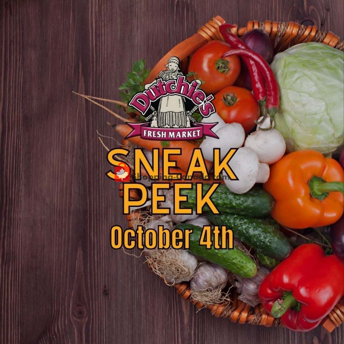 Flyer Dutchie's Fresh Market Canada - from Monday October 4, 2021 to Monday October 4, 2021