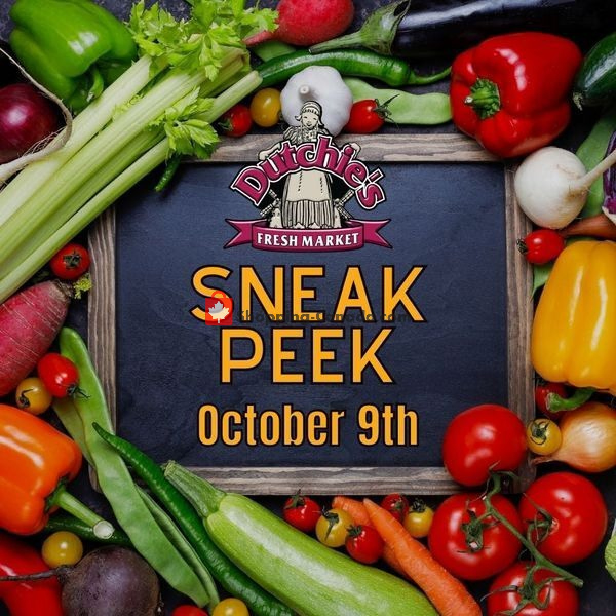 Flyer Dutchie's Fresh Market Canada - from Saturday October 9, 2021 to Saturday October 9, 2021