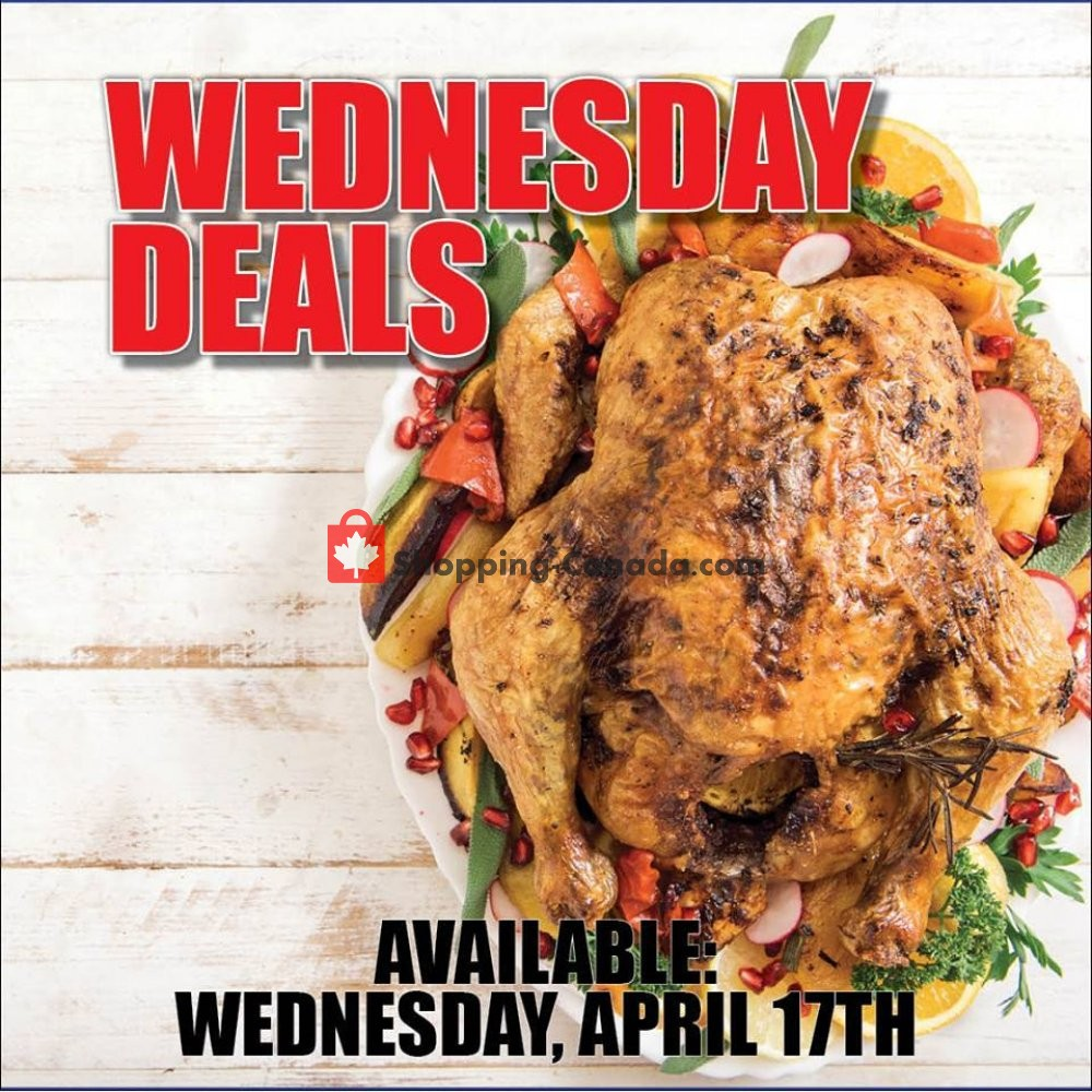 Flyer Dutchie's Fresh Market Canada - from Wednesday April 17, 2019 to Wednesday April 17, 2019