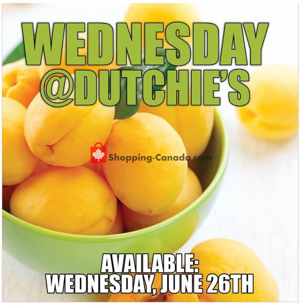 Flyer Dutchie's Fresh Market Canada - from Wednesday June 26, 2019 to Wednesday June 26, 2019