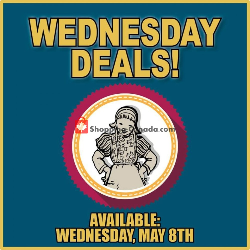 Flyer Dutchie's Fresh Market Canada - from Wednesday May 8, 2019 to Wednesday May 8, 2019