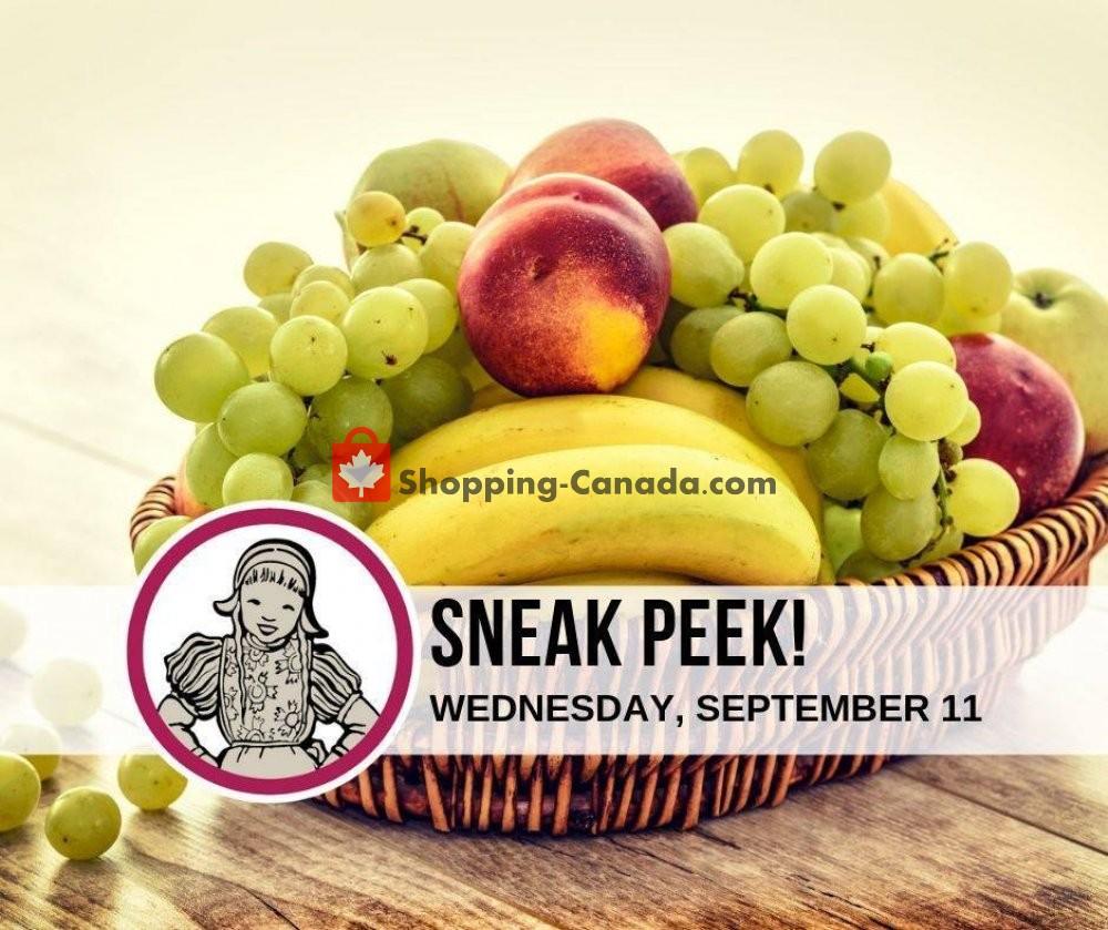 Flyer Dutchie's Fresh Market Canada - from Wednesday September 11, 2019 to Wednesday September 11, 2019