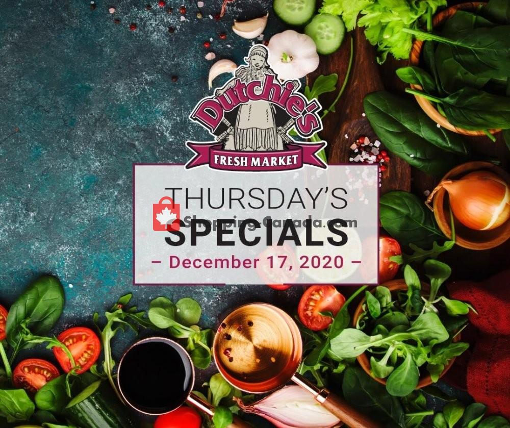 Flyer Dutchie's Fresh Market Canada - from Thursday December 17, 2020 to Thursday December 17, 2020