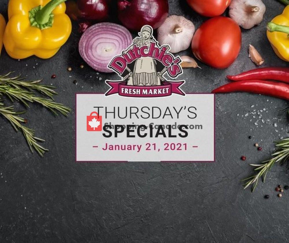 Flyer Dutchie's Fresh Market Canada - from Thursday January 21, 2021 to Thursday January 21, 2021