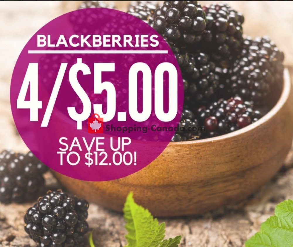 Flyer Dutchie's Fresh Market Canada - from Tuesday July 9, 2019 to Tuesday July 9, 2019