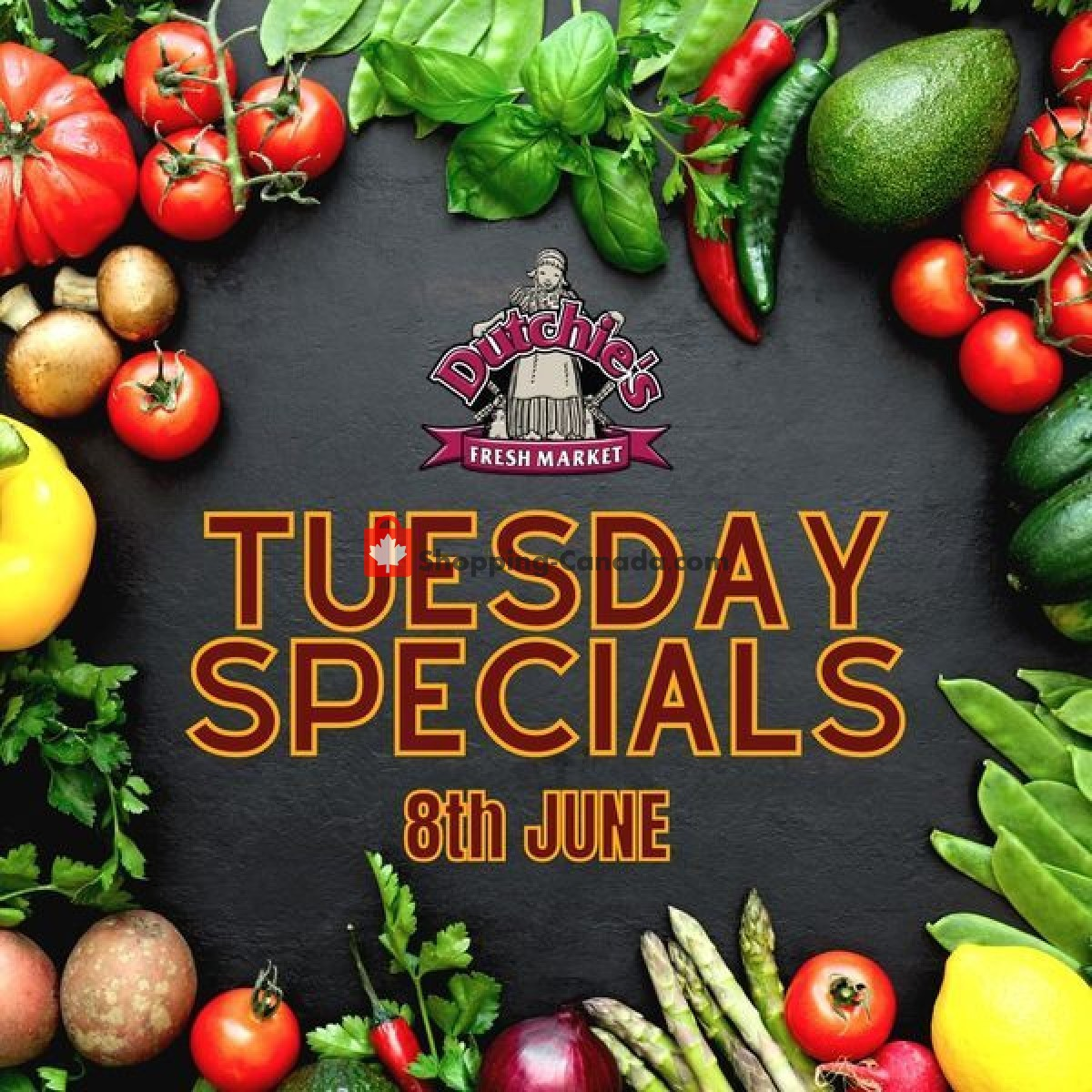 Flyer Dutchie's Fresh Market Canada - from Tuesday June 8, 2021 to Tuesday June 8, 2021