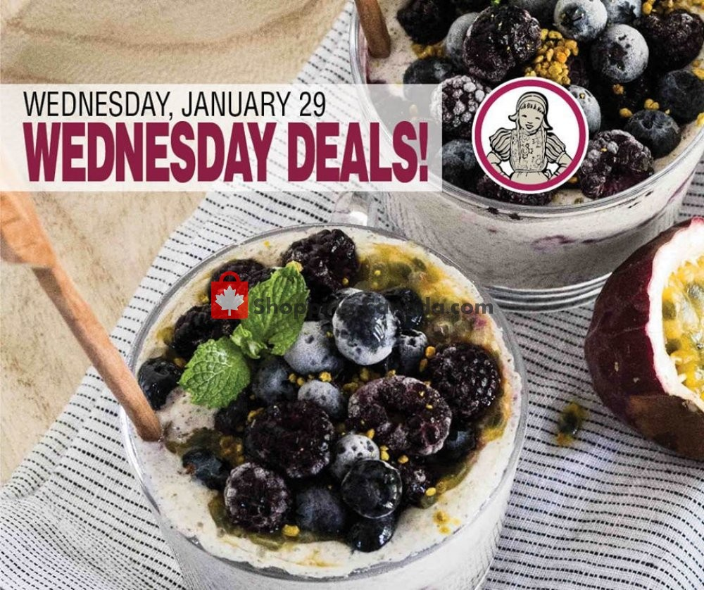 Flyer Dutchie's Fresh Market Canada - from Wednesday January 29, 2020 to Wednesday January 29, 2020