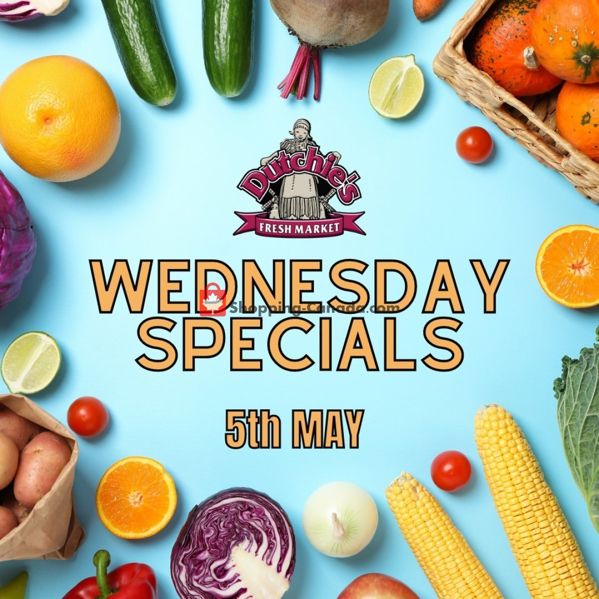 Flyer Dutchie's Fresh Market Canada - from Wednesday May 5, 2021 to Wednesday May 5, 2021