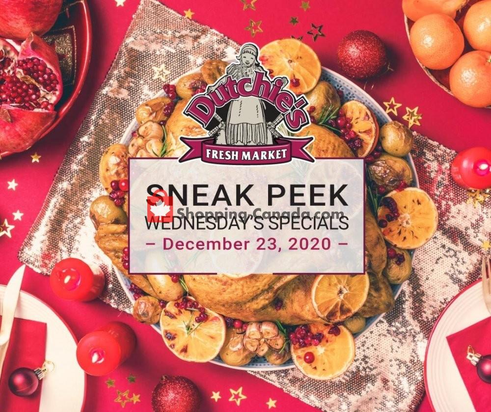 Flyer Dutchie's Fresh Market Canada - from Wednesday December 23, 2020 to Wednesday December 23, 2020