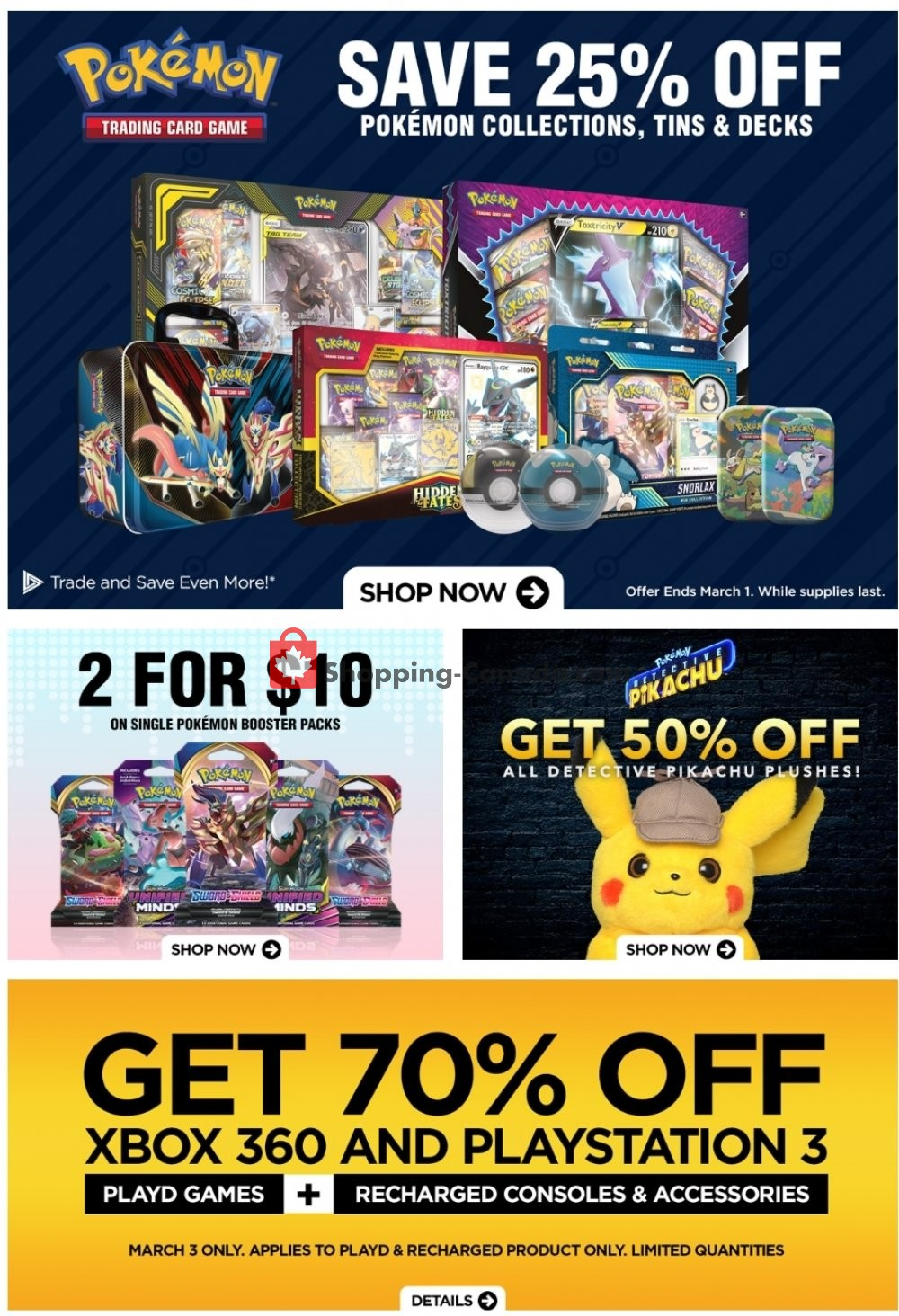 Flyer EB Games Canada - from Friday February 28, 2020 to Thursday March 5, 2020