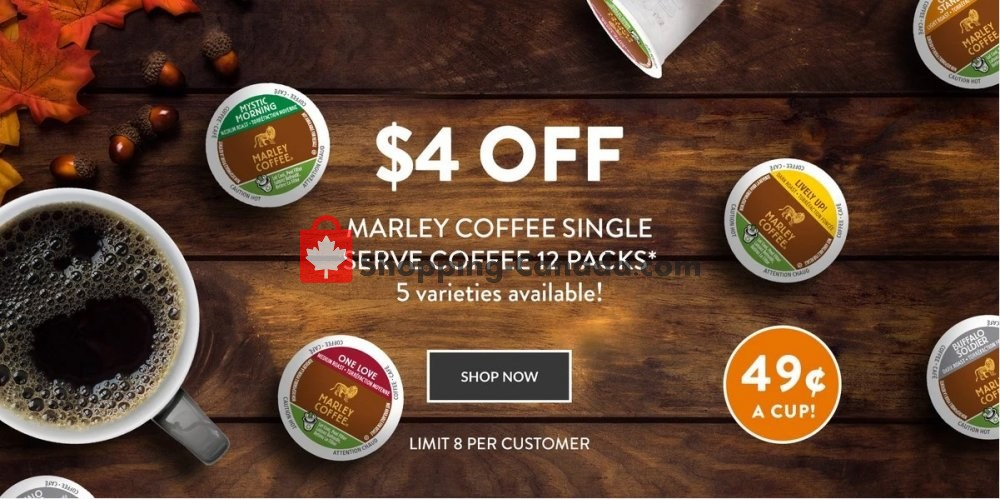 Flyer ECS Coffee Canada - from Thursday October 3, 2019 to Wednesday October 9, 2019