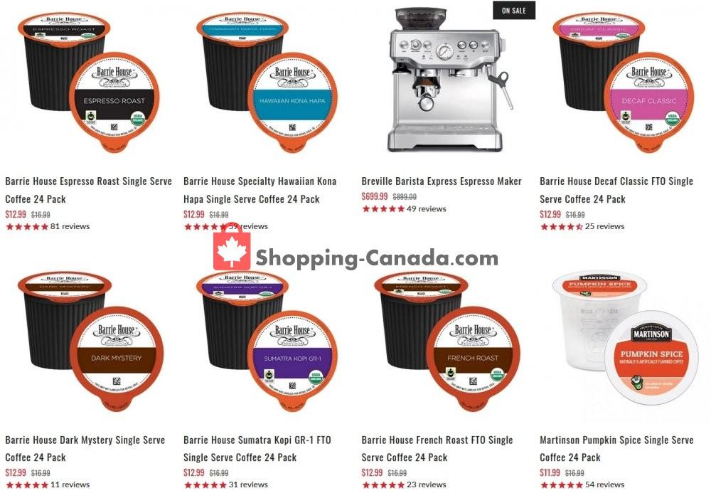 Flyer ECS Coffee Canada - from Wednesday January 20, 2021 to Tuesday January 26, 2021