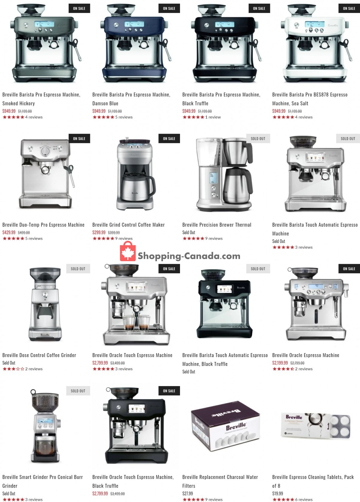 Flyer ECS Coffee Canada - from Wednesday May 5, 2021 to Tuesday May 11, 2021