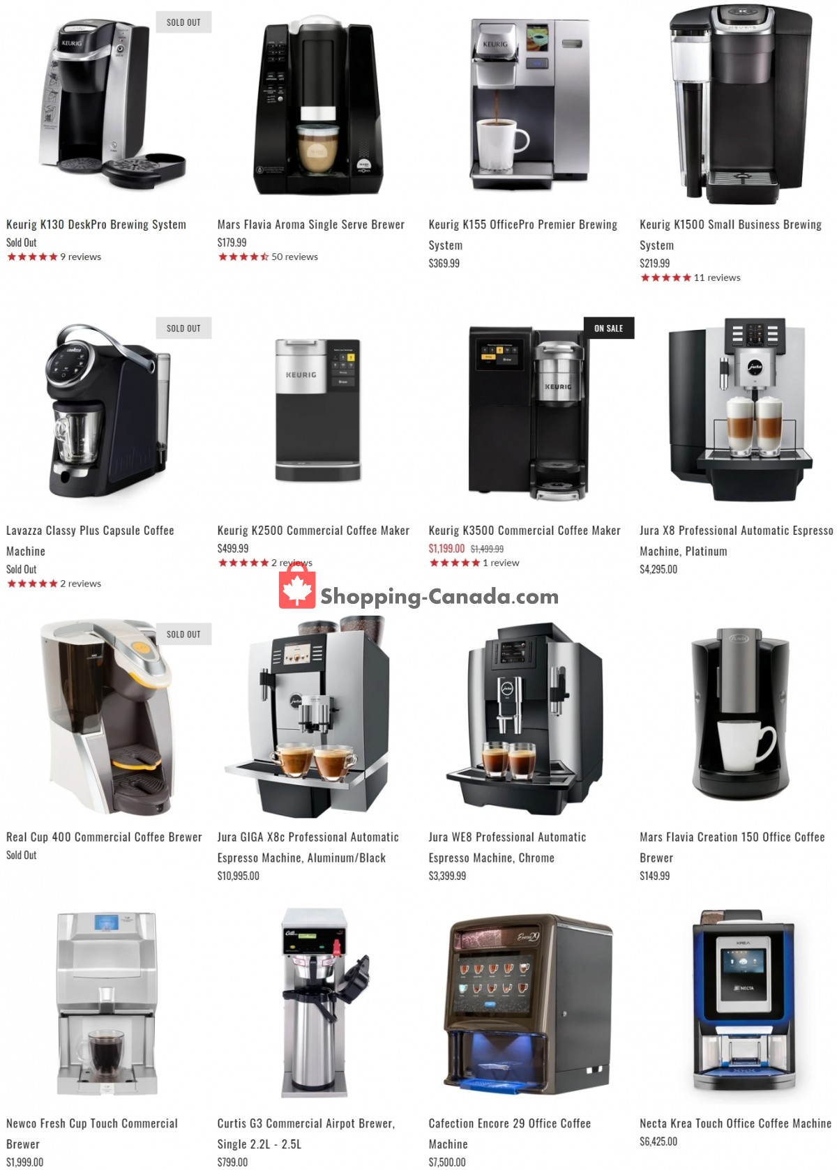 Flyer ECS Coffee Canada - from Wednesday June 9, 2021 to Tuesday June 15, 2021
