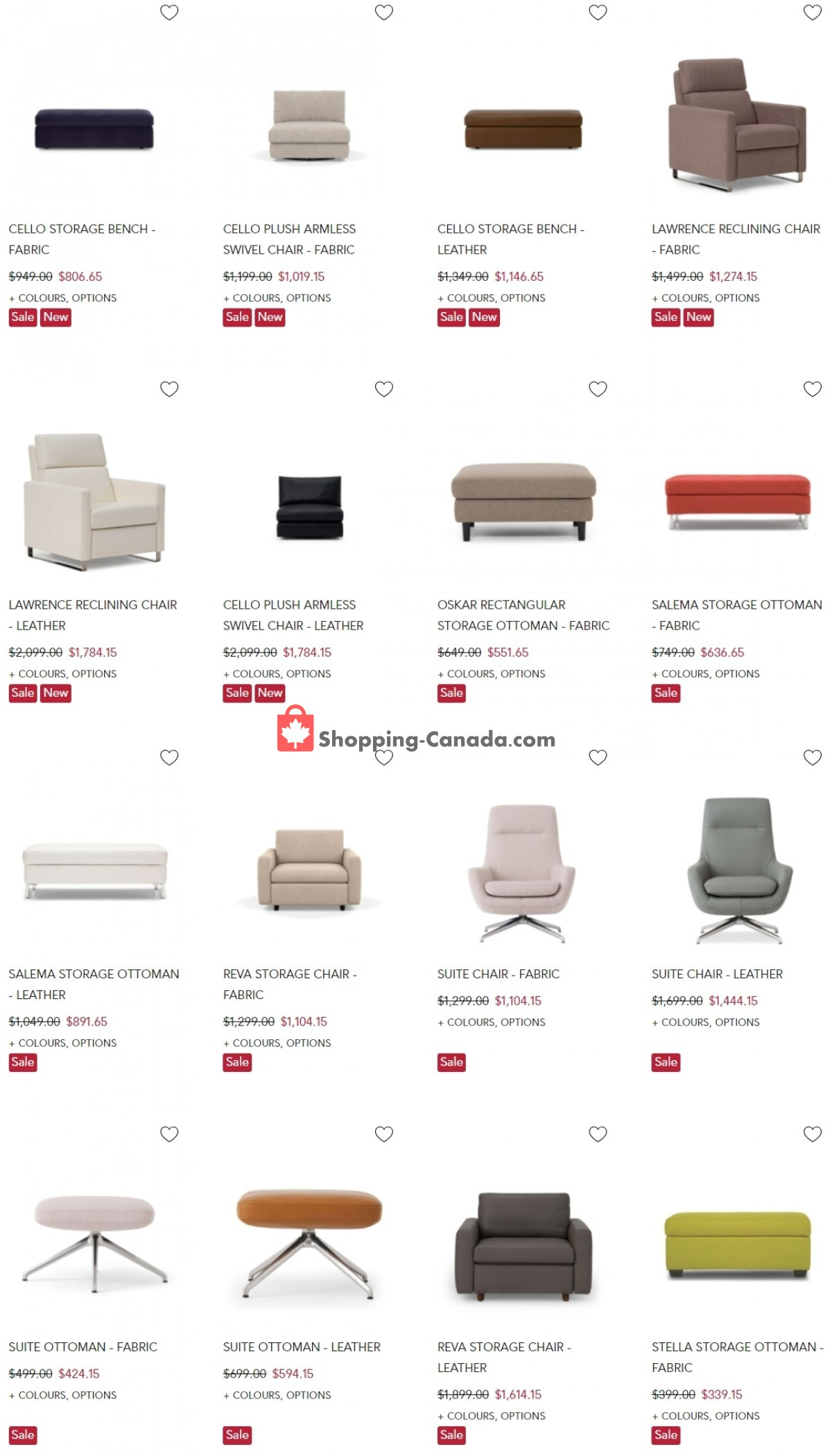 Flyer EQ3 Furniture & Accents Canada - from Tuesday July 13, 2021 to Monday July 19, 2021