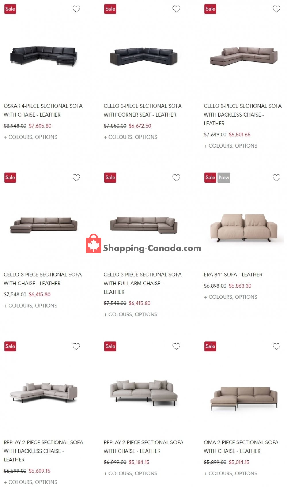 Flyer EQ3 Furniture & Accents Canada - from Wednesday August 5, 2020 to Tuesday August 11, 2020