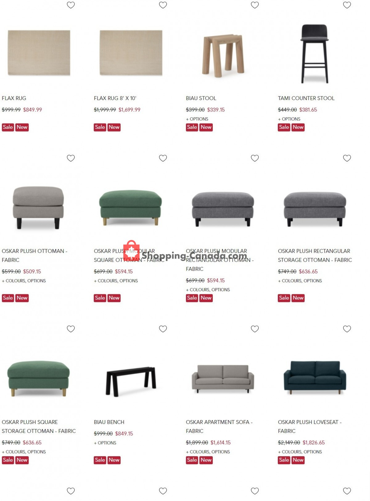 Flyer EQ3 Furniture & Accents Canada - from Tuesday September 7, 2021 to Monday September 13, 2021