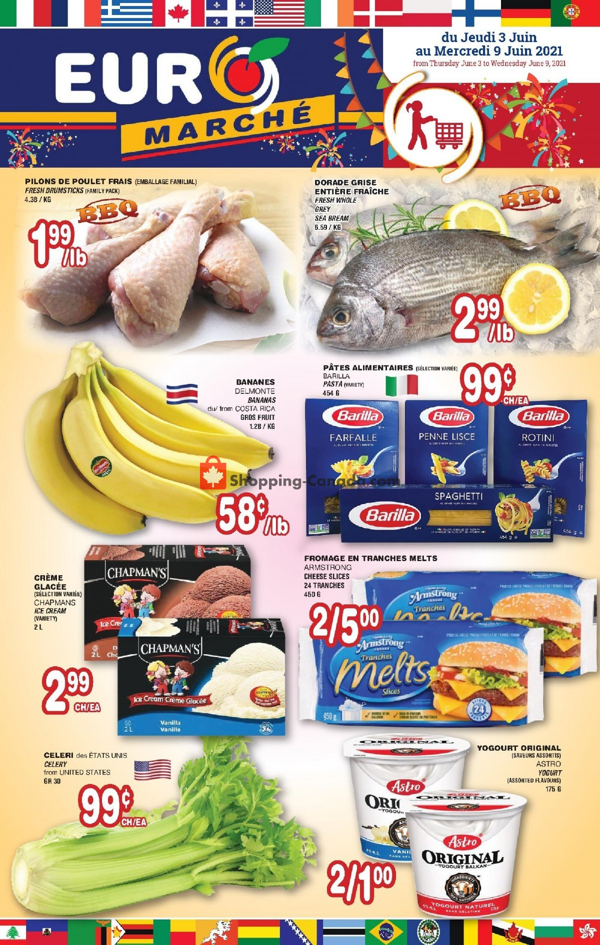 Flyer Euro Marché Canada - from Thursday June 3, 2021 to Wednesday June 9, 2021