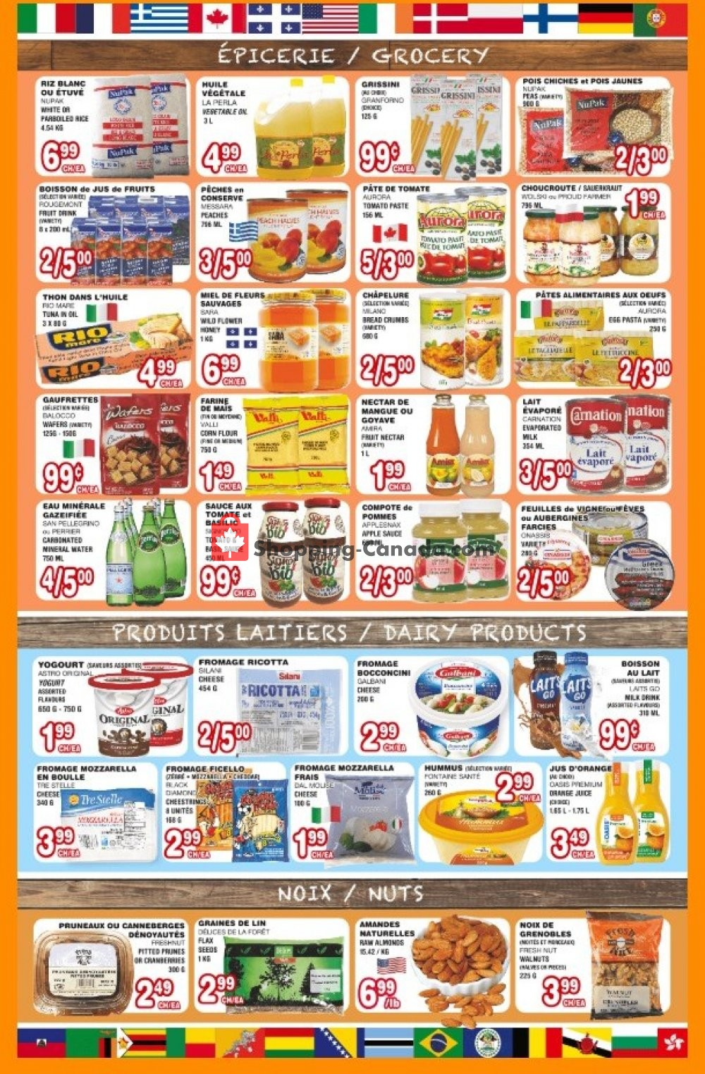 Flyer Euro Marché Canada - from Thursday January 16, 2020 to Wednesday January 22, 2020