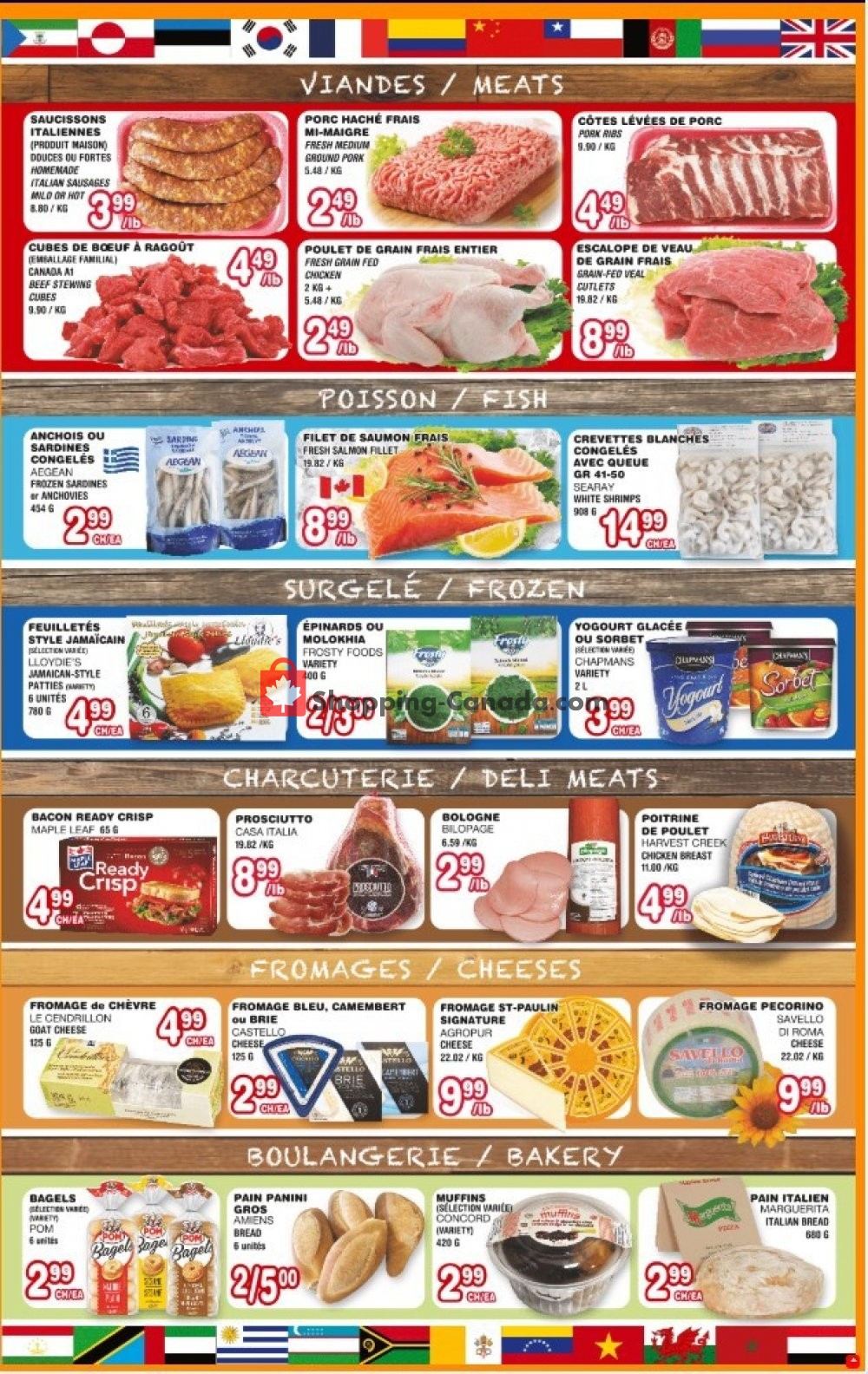 Flyer Euro Marché Canada - from Thursday August 8, 2019 to Wednesday August 14, 2019