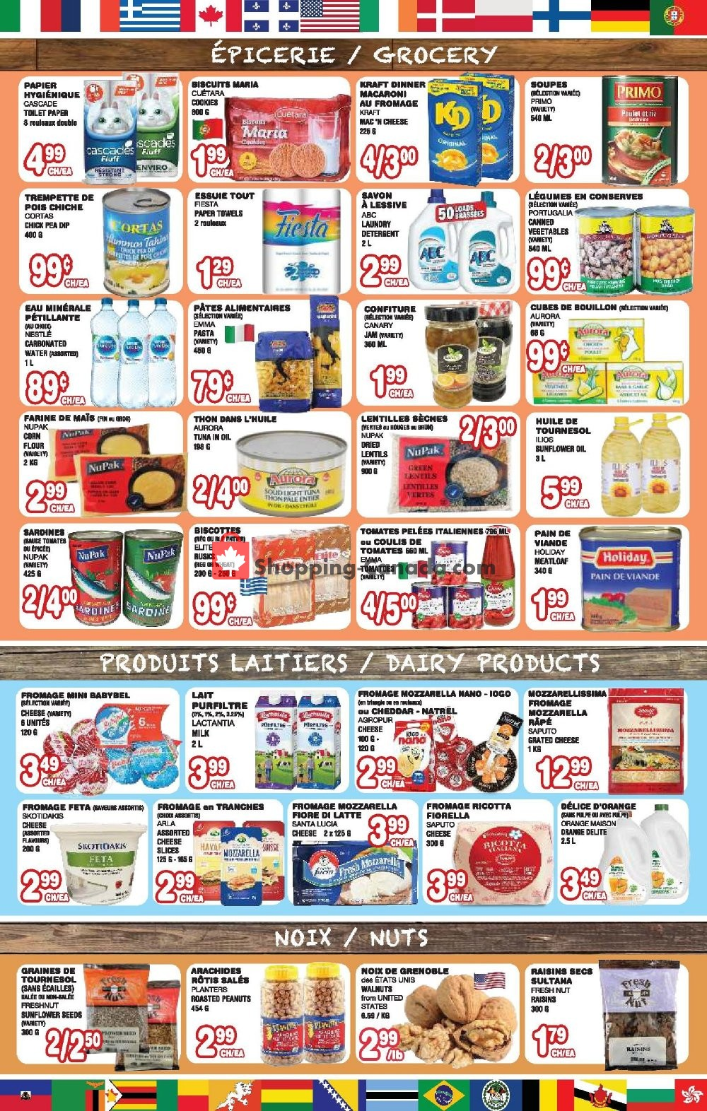 Flyer Euro Marché Canada - from Thursday January 9, 2020 to Wednesday January 15, 2020