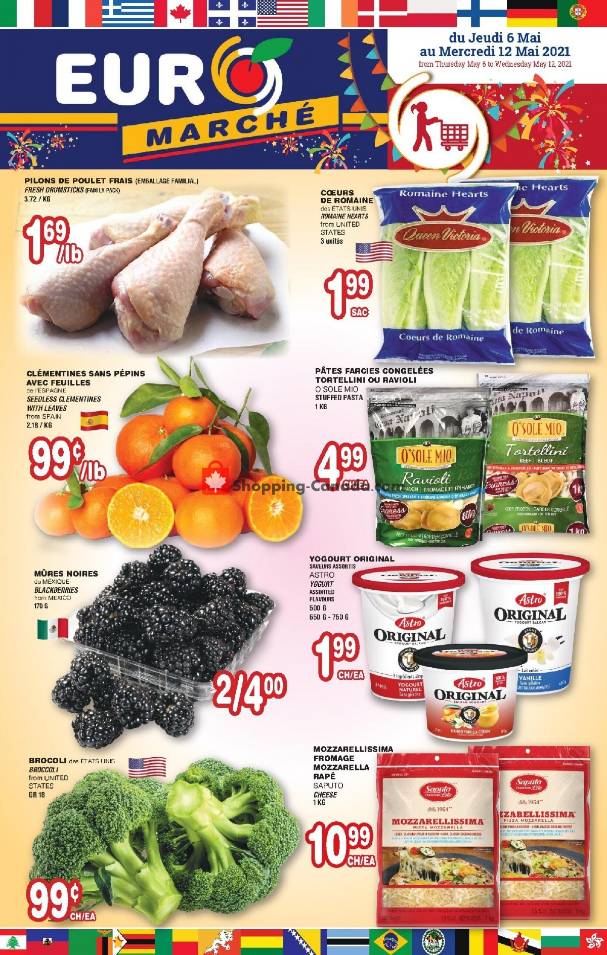 Flyer Euro Marché Canada - from Thursday May 6, 2021 to Wednesday May 12, 2021