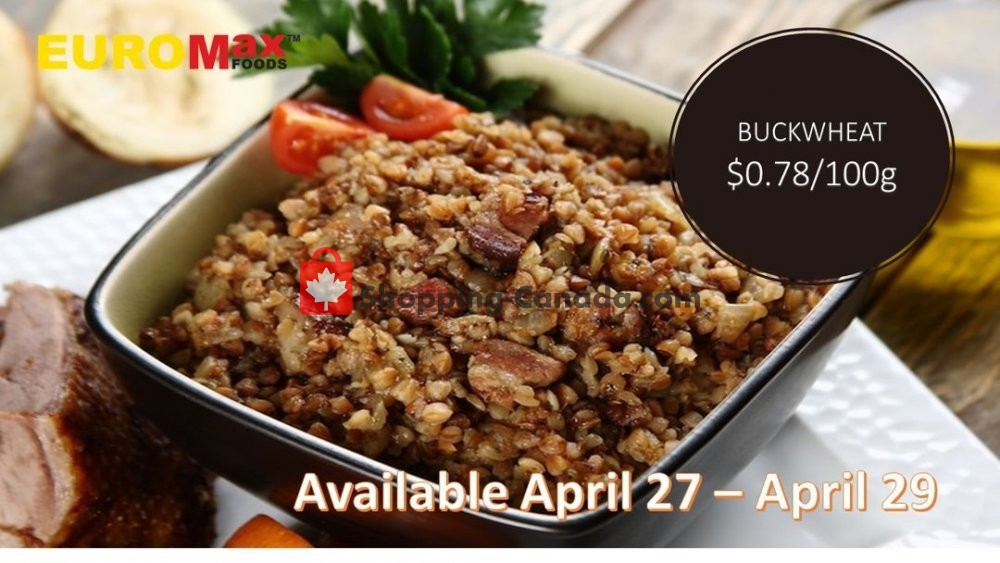 Flyer EuroMax Foods Canada - from Monday April 27, 2020 to Wednesday April 29, 2020