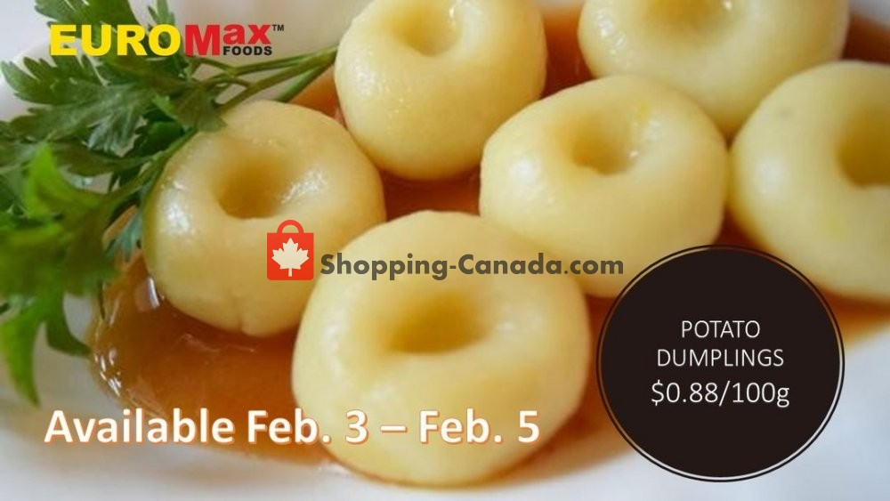 Flyer EuroMax Foods Canada - from Monday February 3, 2020 to Wednesday February 5, 2020