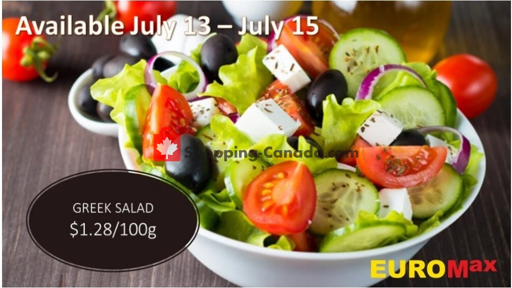 Flyer EuroMax Foods Canada - from Monday July 13, 2020 to Wednesday July 15, 2020