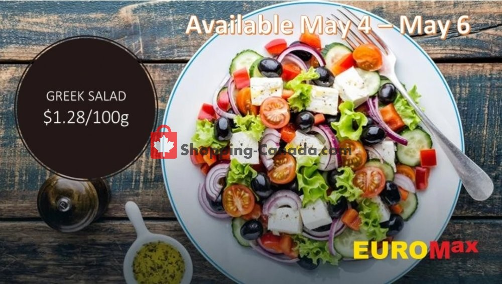 Flyer EuroMax Foods Canada - from Monday May 4, 2020 to Wednesday May 6, 2020
