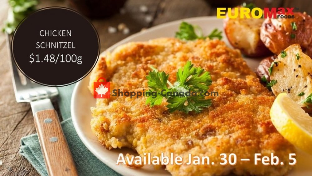 Flyer EuroMax Foods Canada - from Thursday January 30, 2020 to Wednesday February 5, 2020