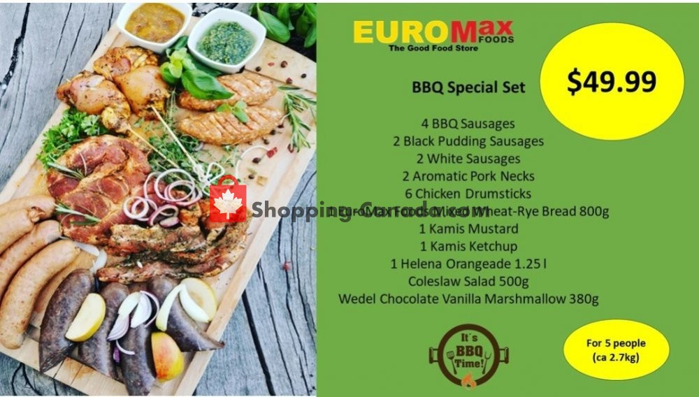Flyer EuroMax Foods Canada - from Thursday May 28, 2020 to Wednesday June 3, 2020
