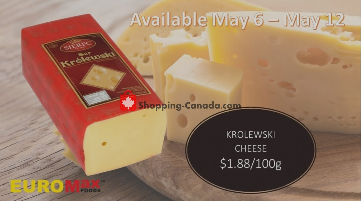 Flyer EuroMax Foods Canada - from Thursday May 6, 2021 to Wednesday May 12, 2021