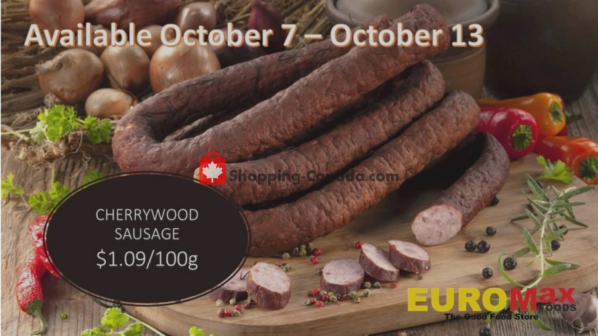 Flyer EuroMax Foods Canada - from Thursday October 7, 2021 to Wednesday October 13, 2021