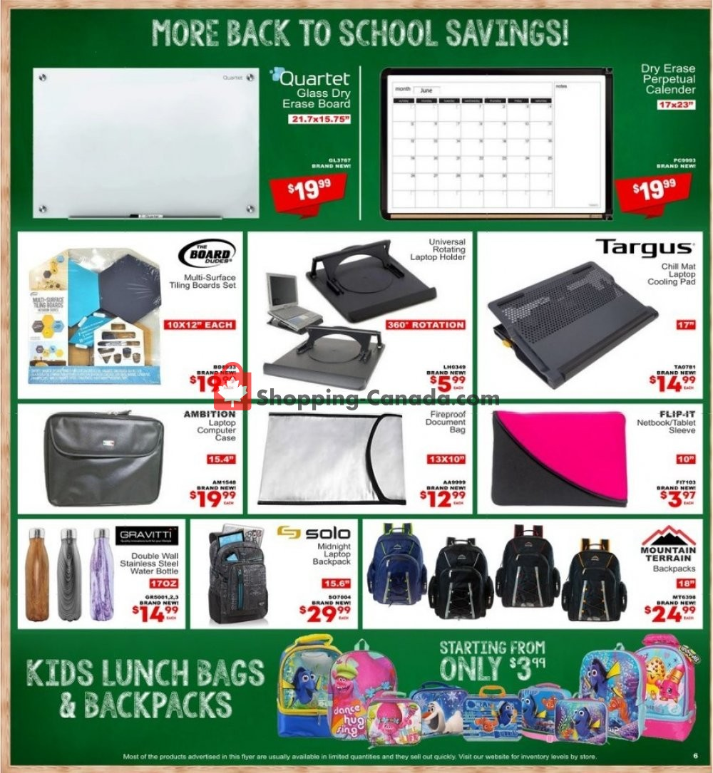 Flyer Factorydirect.ca Canada - from Wednesday August 7, 2019 to Wednesday August 14, 2019