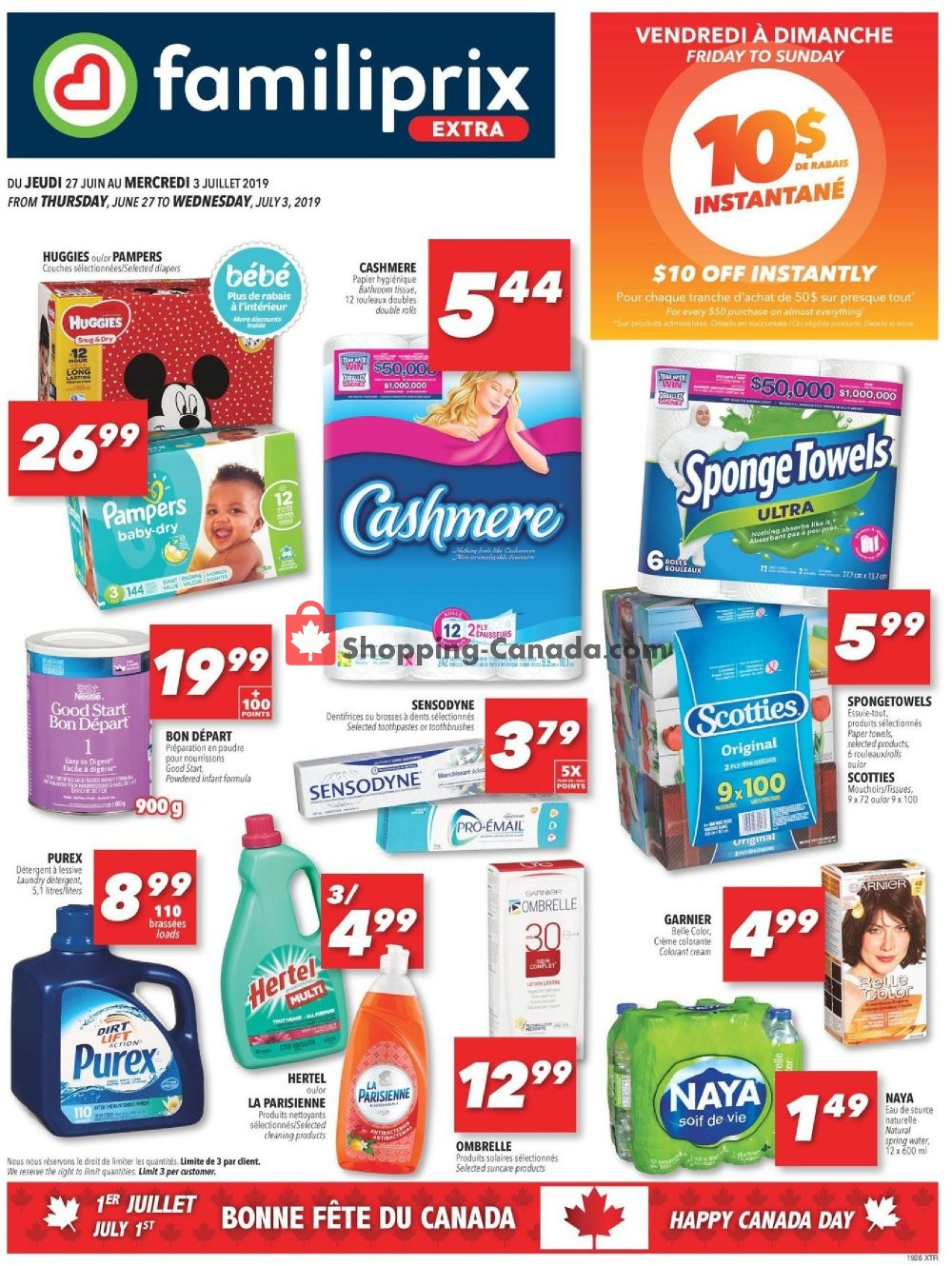 Flyer Factorydirect.ca Canada - from Thursday June 27, 2019 to Wednesday July 3, 2019