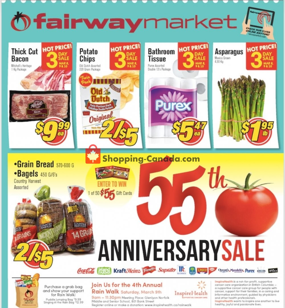 Flyer Fairway Market Canada - from Friday March 8, 2019 to Thursday March 14, 2019