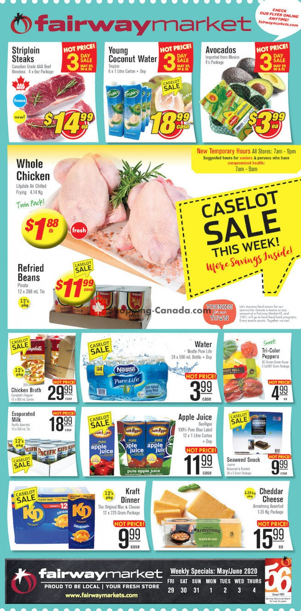 Flyer Fairway Market Canada - from Friday May 29, 2020 to Thursday June 4, 2020