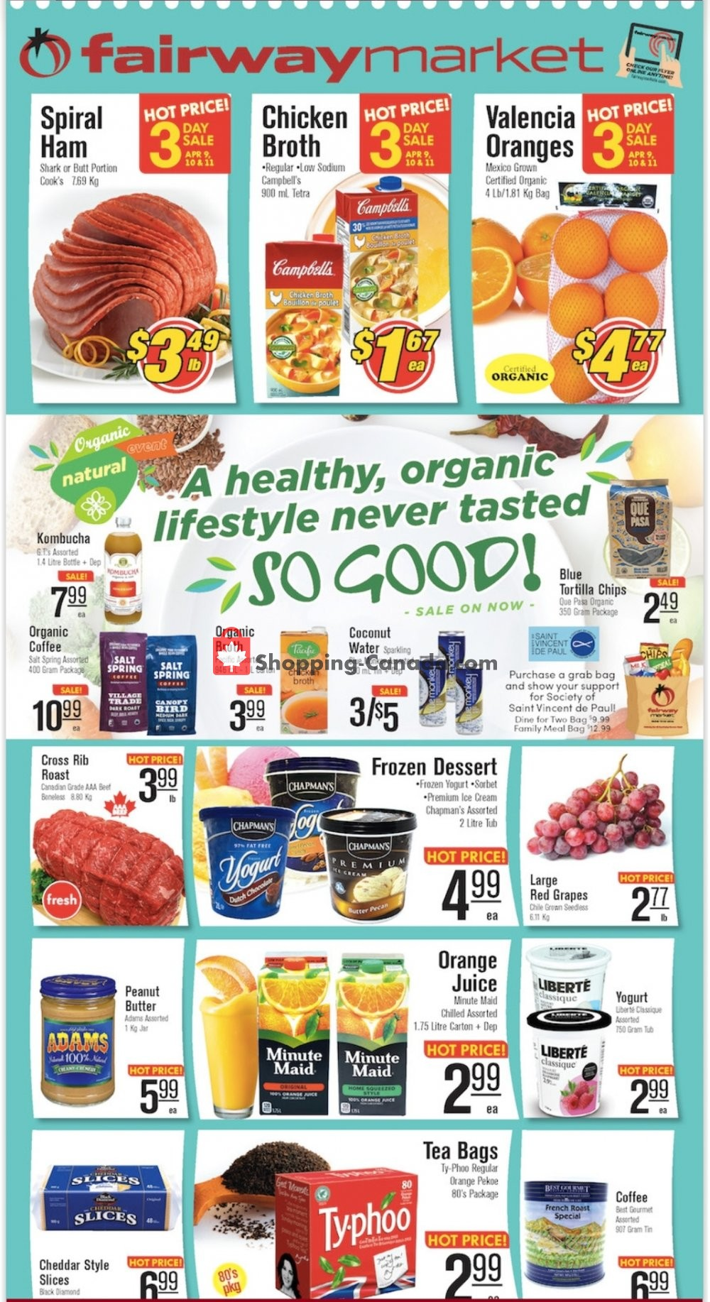 Flyer Fairway Market Canada - from Friday April 12, 2019 to Thursday April 18, 2019