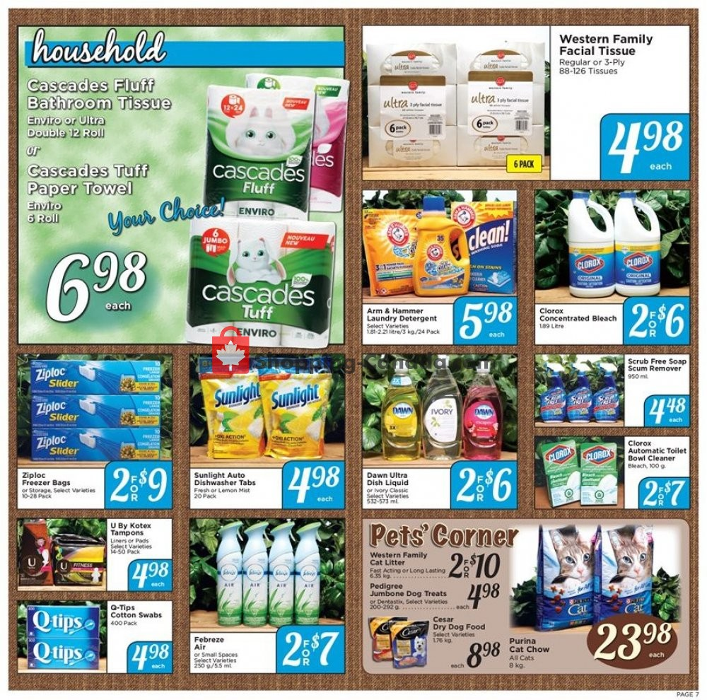 Flyer Falkland Store Ltd. Canada - from Monday August 12, 2019 to Saturday August 17, 2019