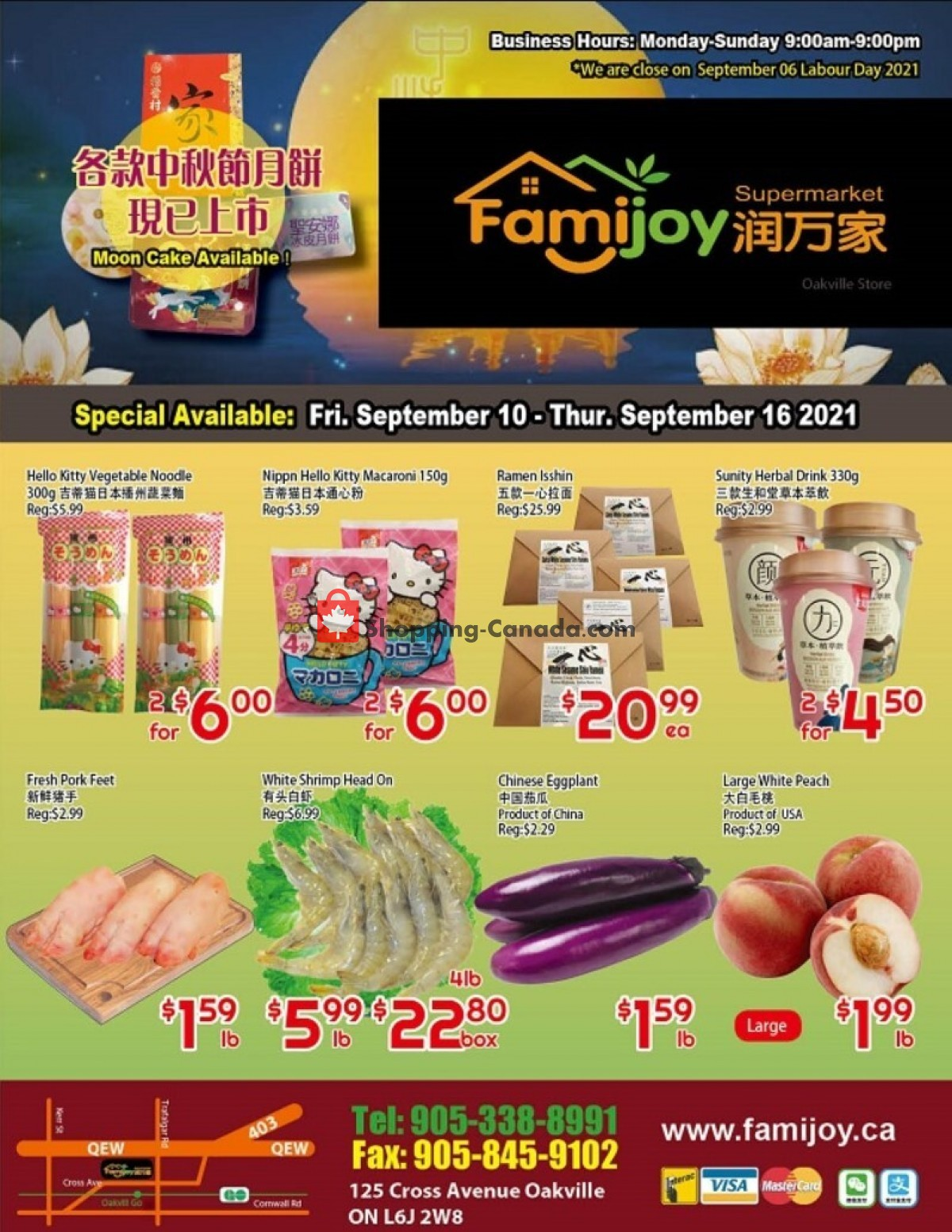 Flyer Famijoy Canada - from Friday September 10, 2021 to Thursday September 16, 2021