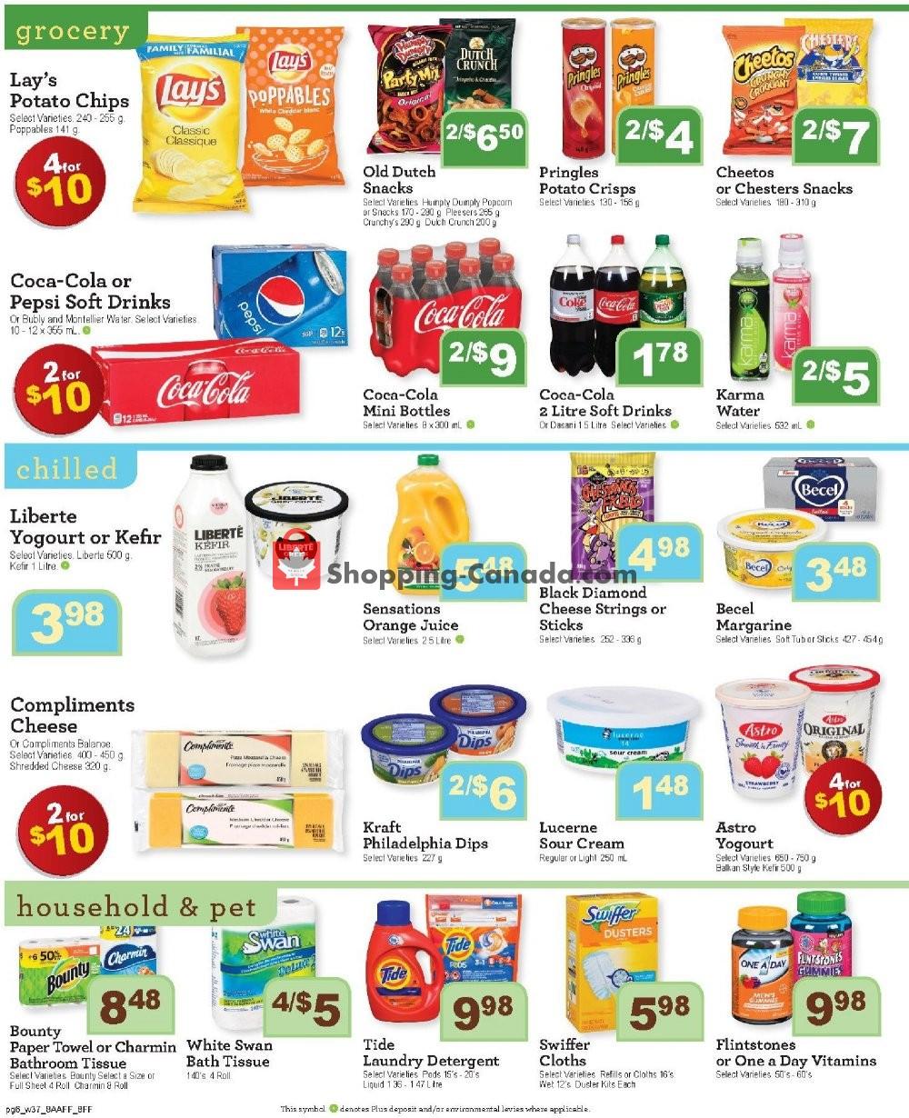 Flyer Family Foods Canada - from Friday January 10, 2020 to Thursday January 16, 2020