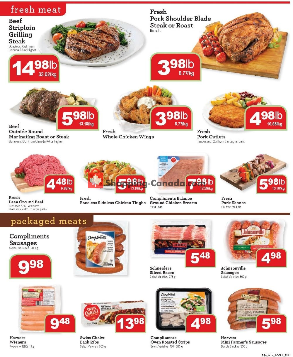 Flyer Family Foods Canada - from Friday July 19, 2019 to Thursday July 25, 2019