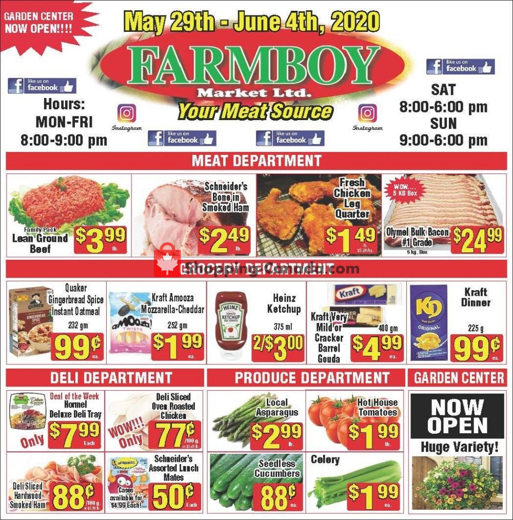 Flyer Farmboy Peterborough Canada - from Friday May 29, 2020 to Thursday June 4, 2020