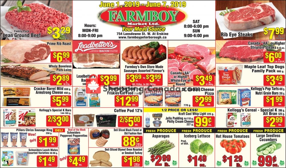 Flyer Farmboy Peterborough Canada - from Saturday June 1, 2019 to Friday June 7, 2019