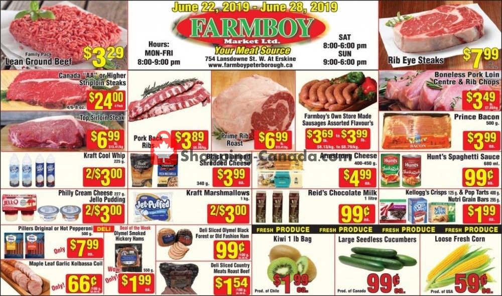 Flyer Farmboy Peterborough Canada - from Saturday June 22, 2019 to Friday June 28, 2019