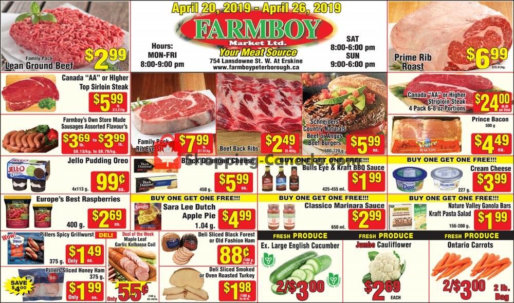 Flyer Farmboy Peterborough Canada - from Saturday April 20, 2019 to Friday April 26, 2019